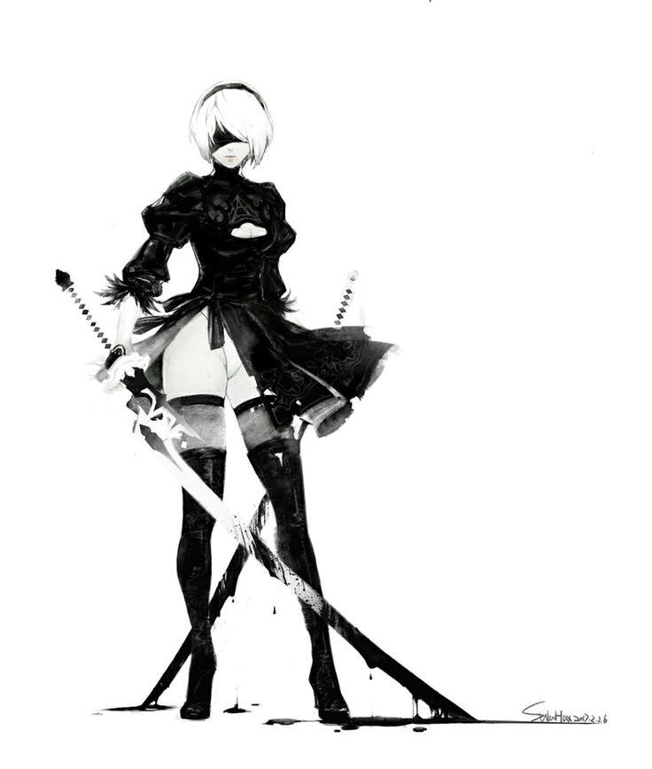 Character Design Nier Automata : Best nier automata images on pinterest