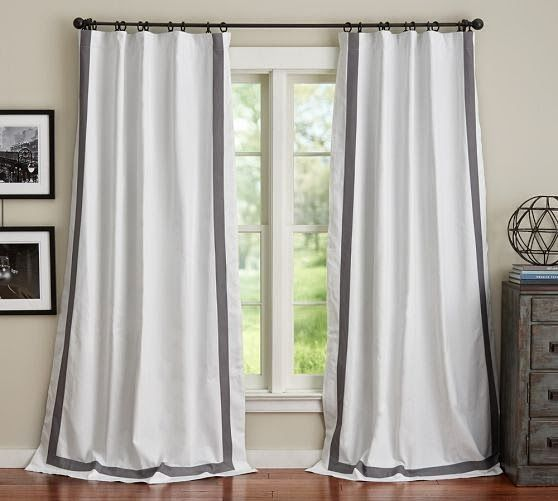1000 Ideas About Pottery Barn Curtains On Pinterest Pottery Barn Tall Lamps And Side Table Lamps