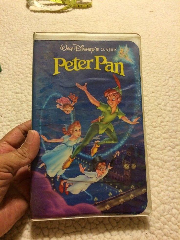 Peter Pan (VHS, 1990) Black Diamond  | eBay