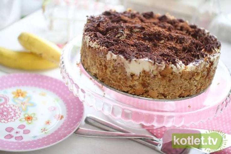 Banoffee obłędne ciasto bez pieczenia