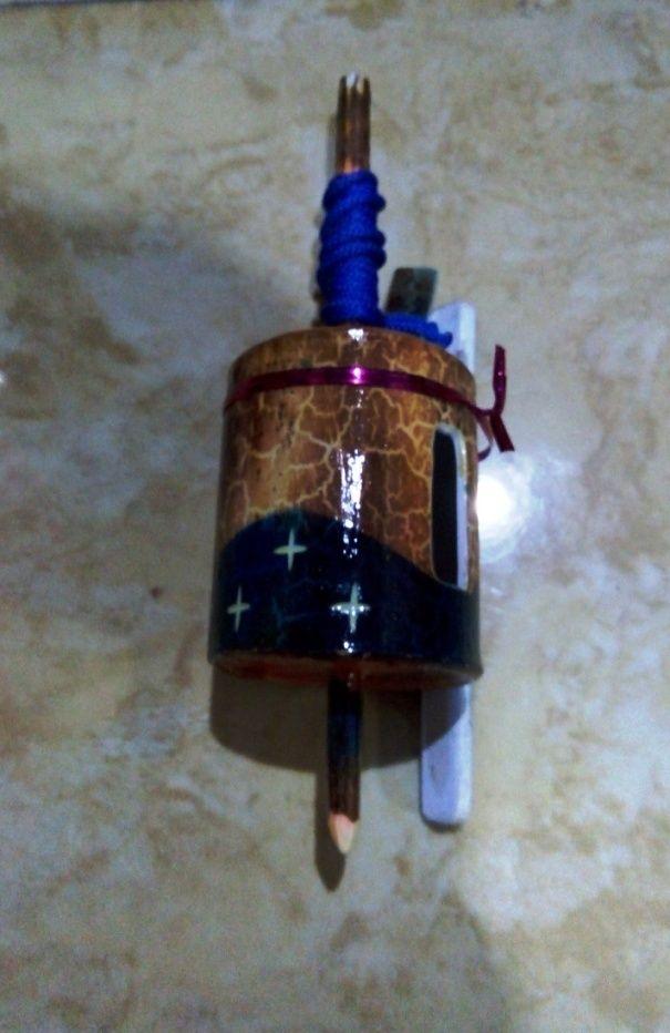 """Gasing Paralon Bakar warna biru tua dengan bahan PVC 2"""""""