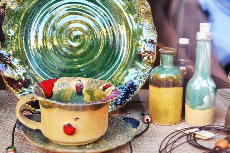 Lucrări din ceramică de Nicoleta Mureșan