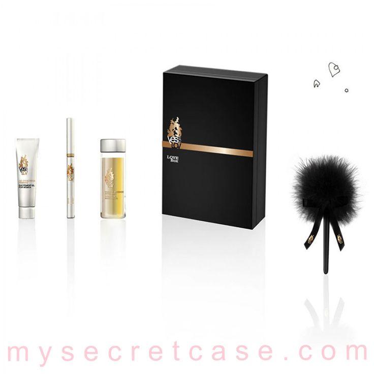 Love Box è un kit del piacere di YESforLOV http://www.mysecretcase.com/giochi-erotici-yesforlove-love-box