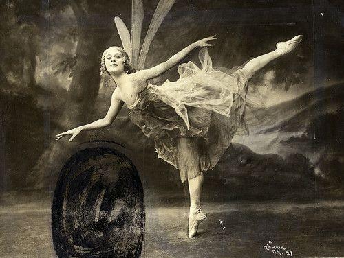 1900's Russian Ballet Anna Pavlova Fairy Dance