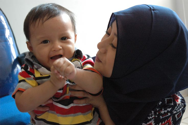 "hi dear... this is Fawwaz. My little nephew. ""Aunty Nisa... why you look at me? lets laugh, aunty..."" :D"