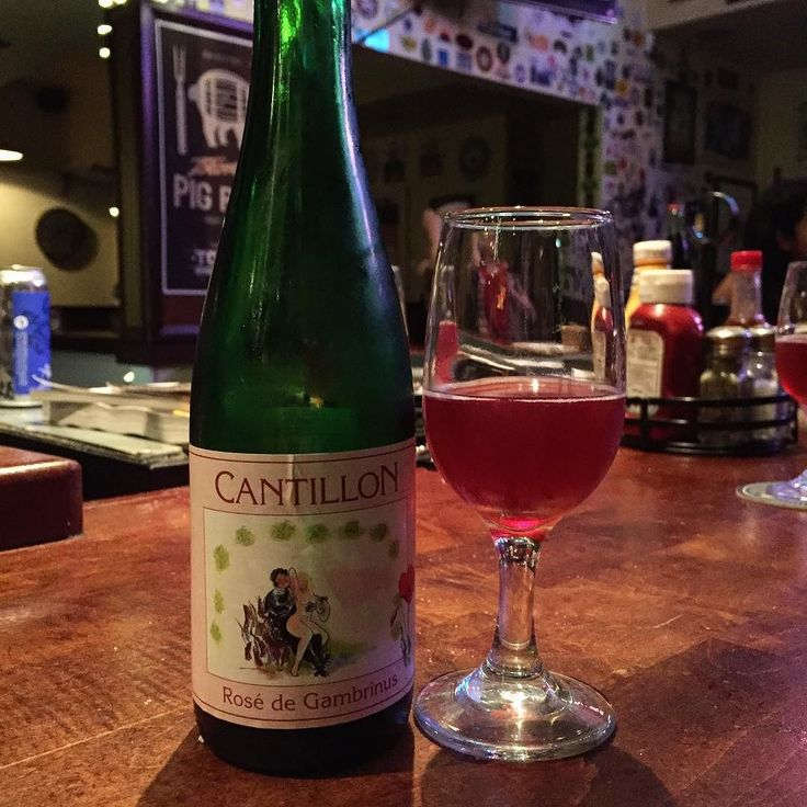 Too good! Rosé de Gambrinus from #Cantillion