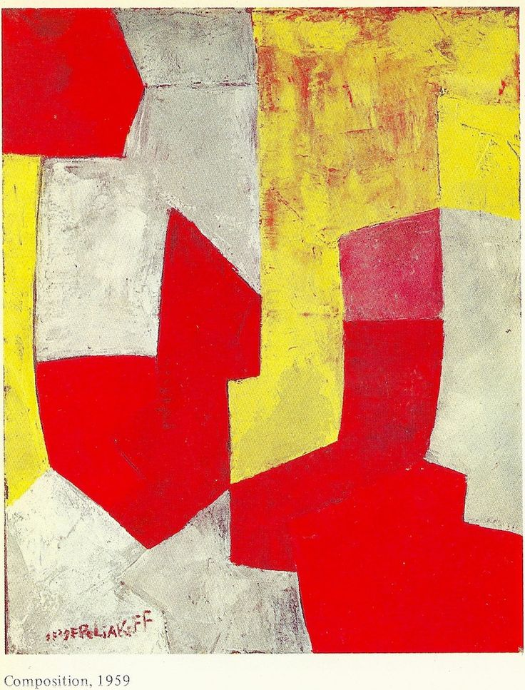 Poliakoff, by Gerard Durozoi-Edit.1984-Composition 1959