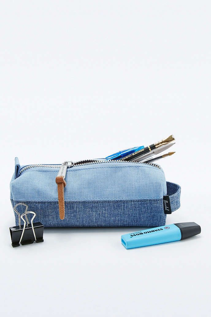 Herschel Supply co. Settlement Limoges Crosshatch Pencil Case - Urban Outfitters