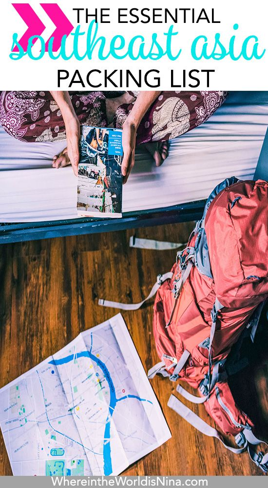 If you re wondering what to pack for Southeast Asia, I have it right here!  This is EVERYTHING you need for your Southeast Asia packing list. f44c8413a5