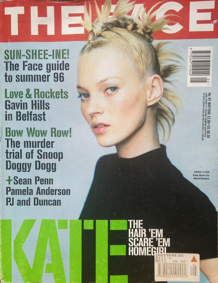 SPIKE U LIKE Kate Moss by Mario Testino 1996