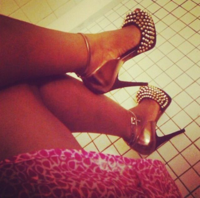 My cute steeve madden Studded heels