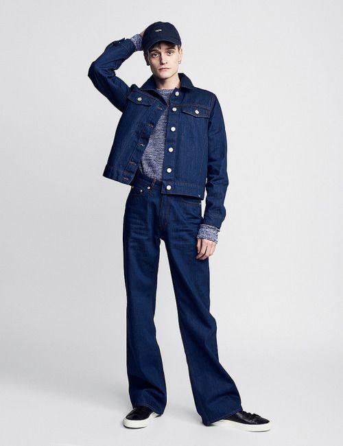 Wood Wood Denim FW16.  menswear mnswr mens style mens fashion fashion style campaign lookbook woodwood