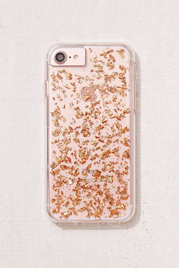 Slide View 2 Rose Gold Flecked Iphone 8 7 Case Phone Cases Cool Phone Cases Case