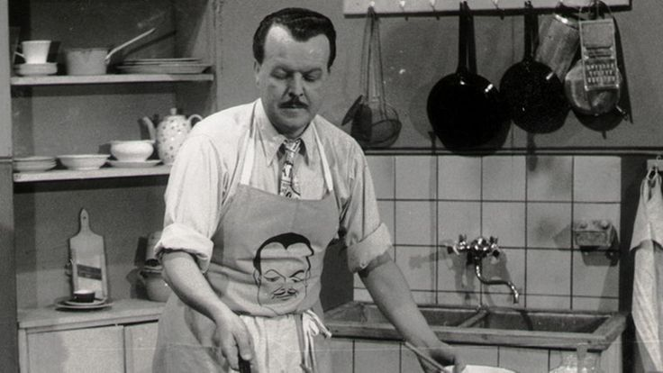 Clemens Wilmenrod: First German TV-cook.