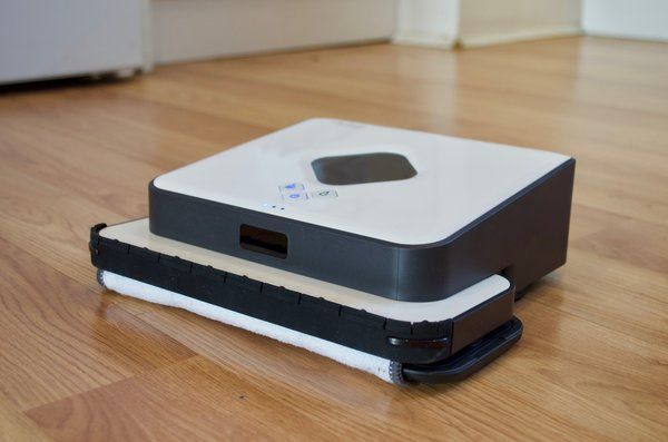 Irobot Braava 390t Review This Floor Mopping Robot Is Smart And Simple But Lacks Elbow Grease Irobot Braava Irobot Irobot Mop