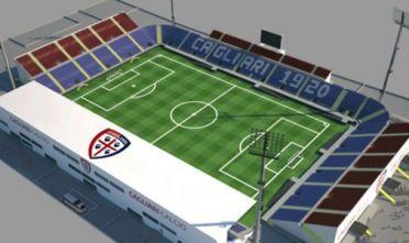 Cagliari ha il suo nuovo stadio. Provvisorio. sett.'17