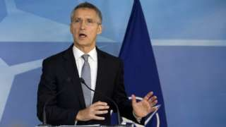 Trump election: Nato chief warns against going it alone - BBC News