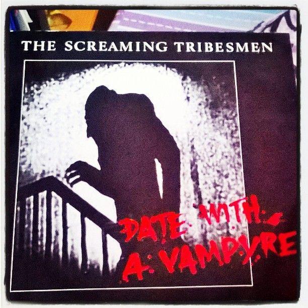 #datewithaVampyre by #theScreamingTribesmen best #vinyl #ep #albumcover #Nosferatu #MaxSchreck #Halloweenmusic  #Halloween  #kekri #kurpitsajuhla #Australian #garagemusic