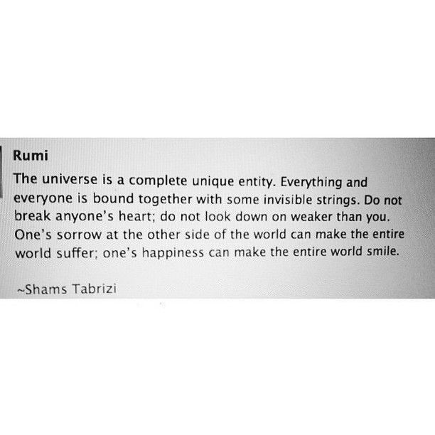 Rumi Quote of The Day
