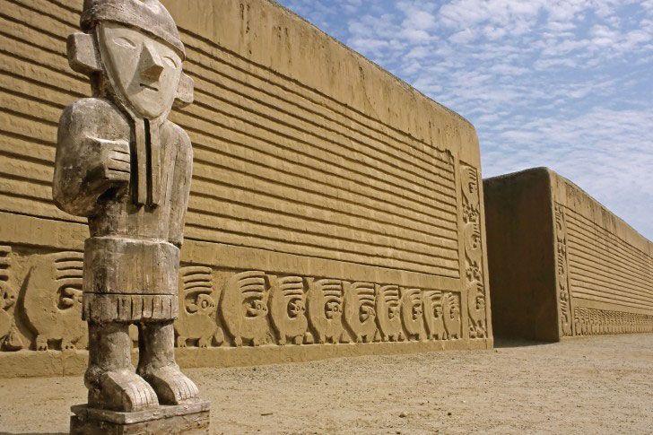 13. Chan Chan, Peru.