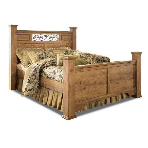 Relax In Rustic Comfort With The Bittersweet Queen Size Bed From The  Bittersweet Collection By Ashley