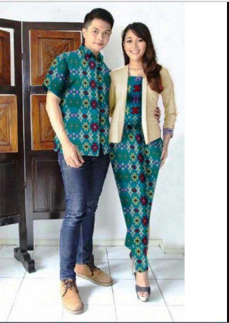 Baju Batik Couple Untuk Ke Pesta  0d10ed625e