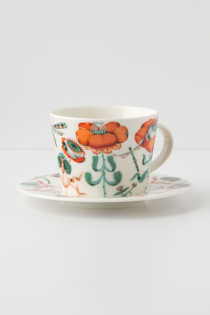 Lohja Cup & Saucer / Anthropologie