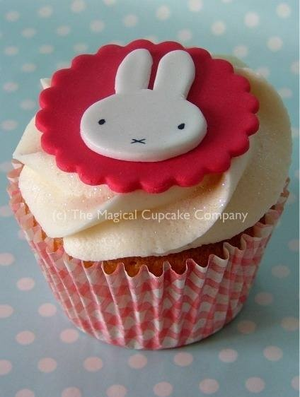 Miffy cupcakes- cuteness overload!