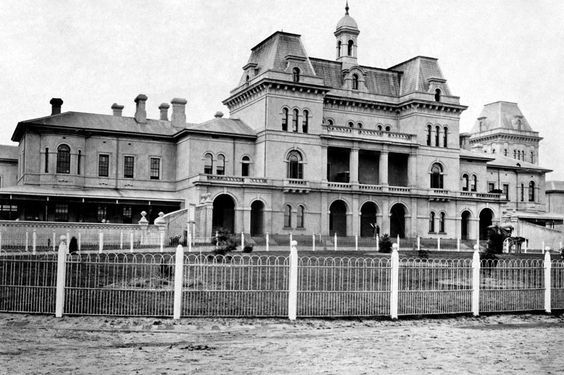 Oddfellows Insane Asylum in Liberty, Missouri. Its true stories of hauntings have made this place famous and have been the locale of filming scary movies.