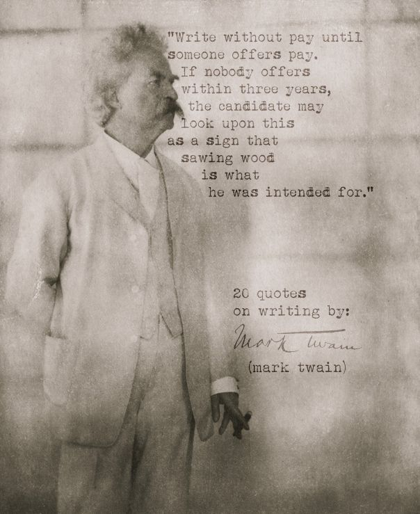 Mark twain research papers
