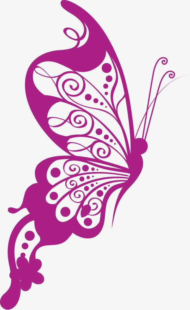 Vector Art Butterfly, Butterfly Clipart, Vector, Butterfly ...