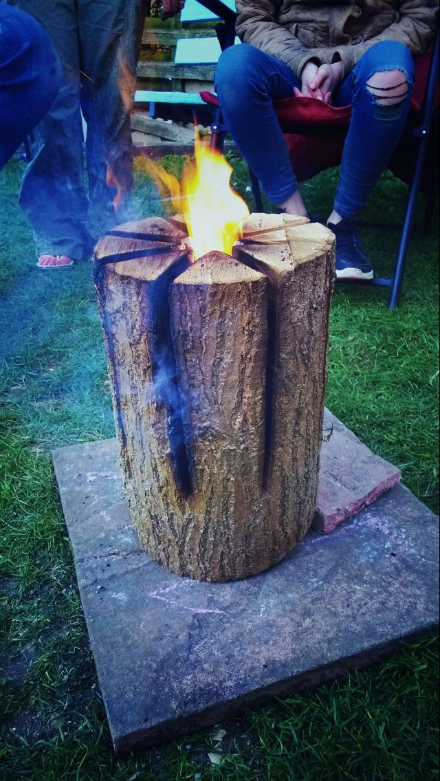 Swedish fire log... Need to try this!