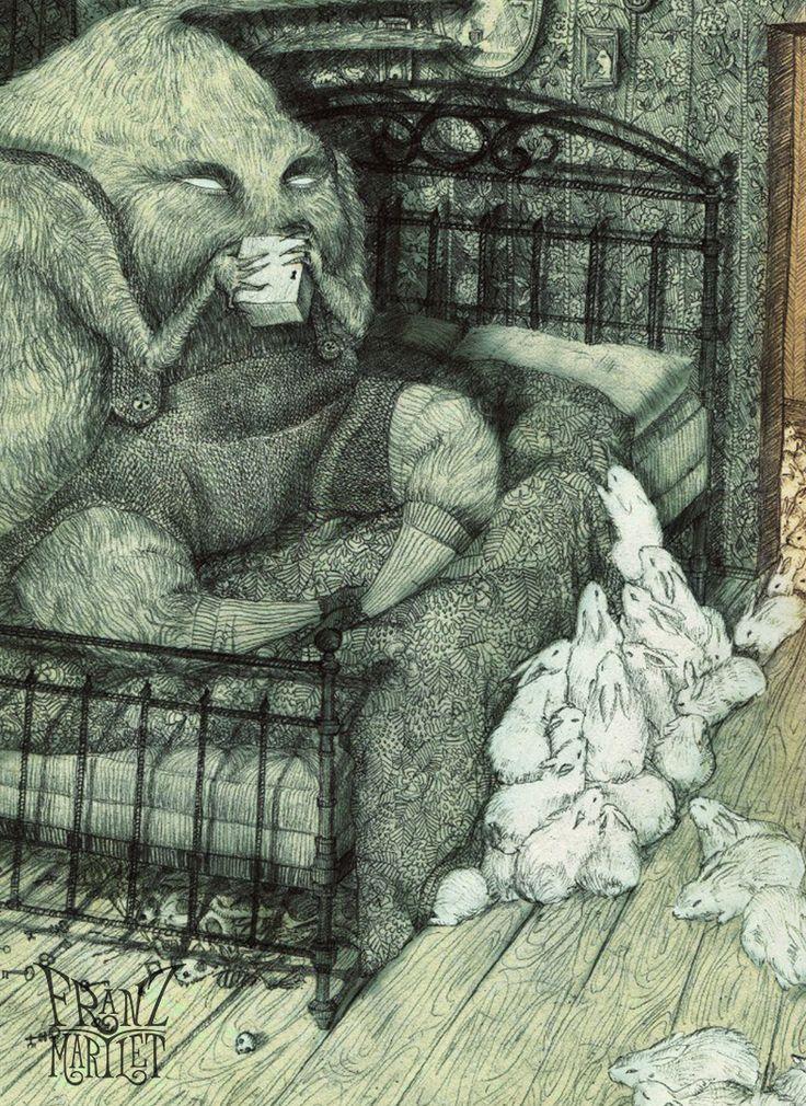 #entrancement #key #trance #bunny #delirium #magic #mistery #rabbit #room #secret #skull #terror #art #franz_martlet