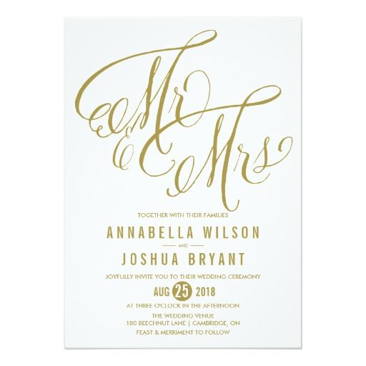 279 best Mr and Mrs Wedding Invitations images on Pinterest Card