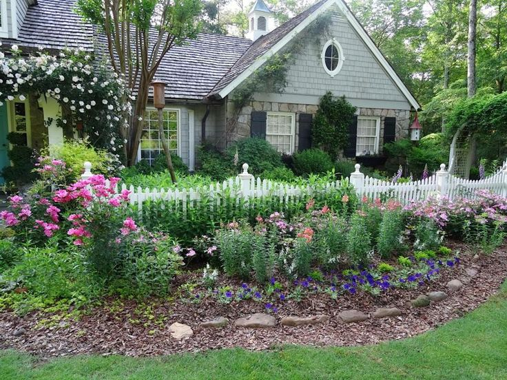 Front Yard Fence Curb Appeal Landscaping Ideas