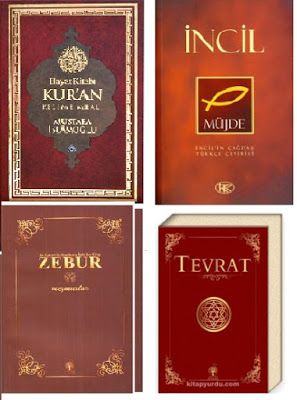 4 Büyük Kutsal Kitaplar - Kuran - İncil - Zebur - Tevrat - PDF ve EPUB indir - Kitapindir.in - E KİTAP İNDİR