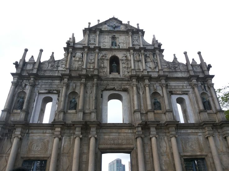 St. Paul Ruins #macau #china