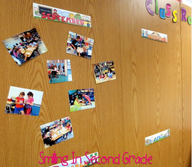 Classroom Timeline in pictures