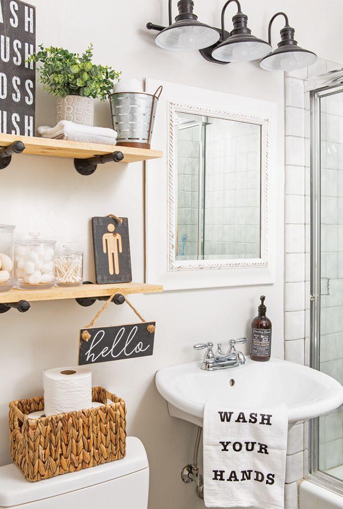Powder Room Guest Bathroom Decor Bathroom Sink Decor Small Bathroom Sinks