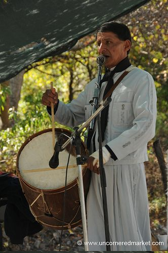 Music plays a bit role at the gaucho festival in El Sunchal in northern Argentina. by uncorneredmarket.com
