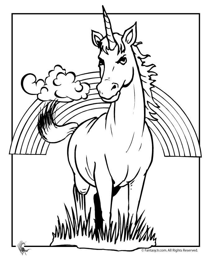 unicorn pegasus coloring pages - photo#23