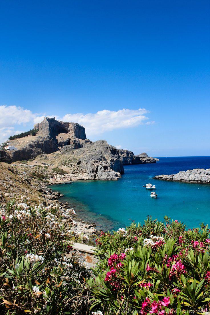St John's Bay Rhodes, Greece