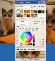 Need to pick a color off your screen but don't want to open photoshop and pick from a screen capture? This has been a great free tool for me.