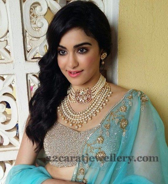 Adah Sharma in Pearls Jewelry | Jewellery Designs