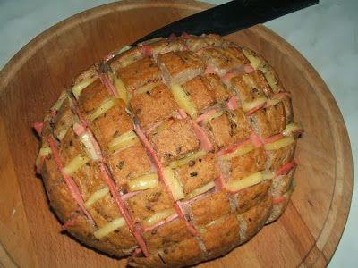 Pane ripieno - Töltött kenyér