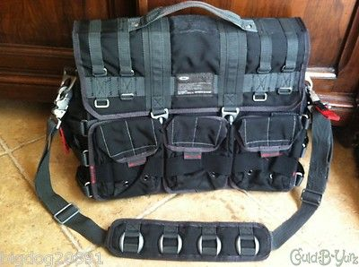 Oakley Computer Bag Tactical Gear 92042-001 Black -- Fits 17 Laptop -- Dexter
