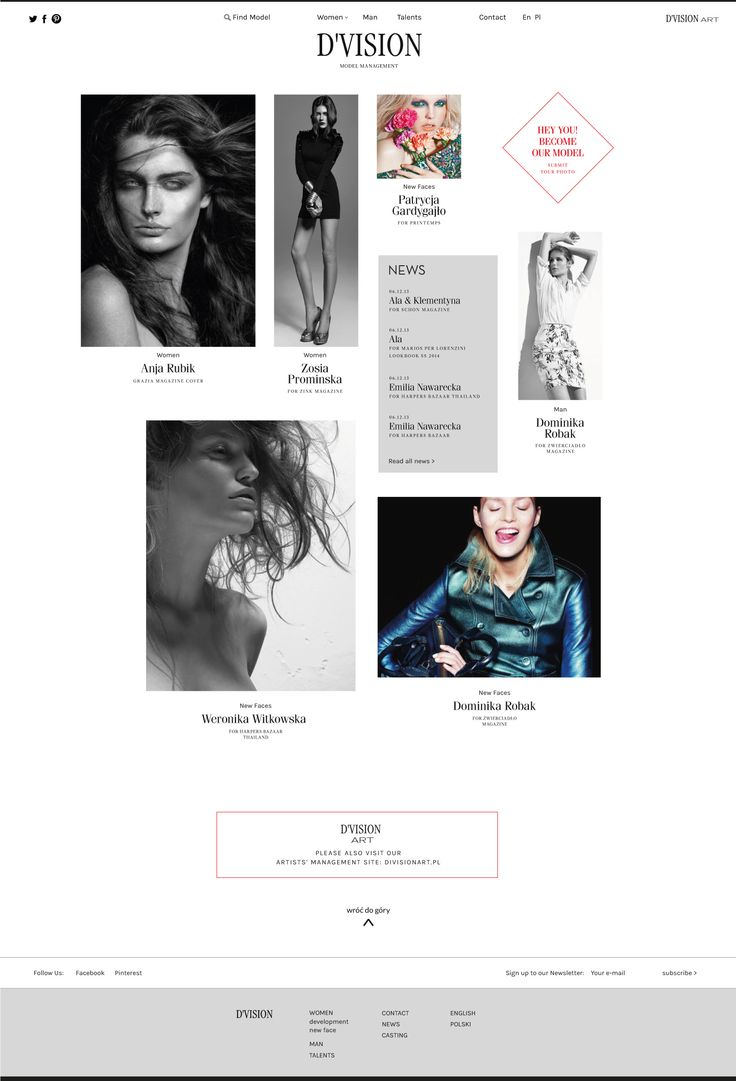 Division Models - website