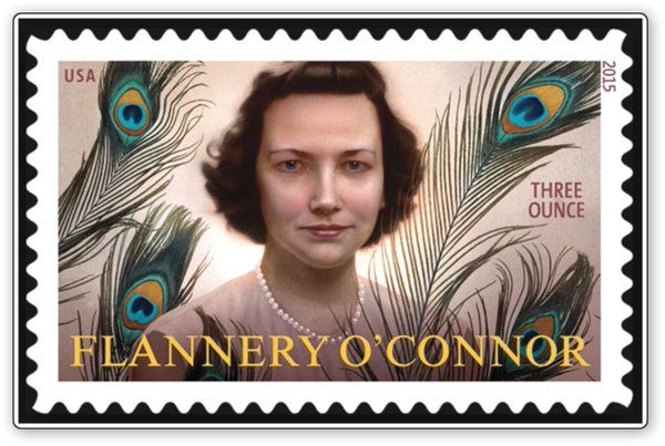 #stamps of #woman writers Flannery O'connor