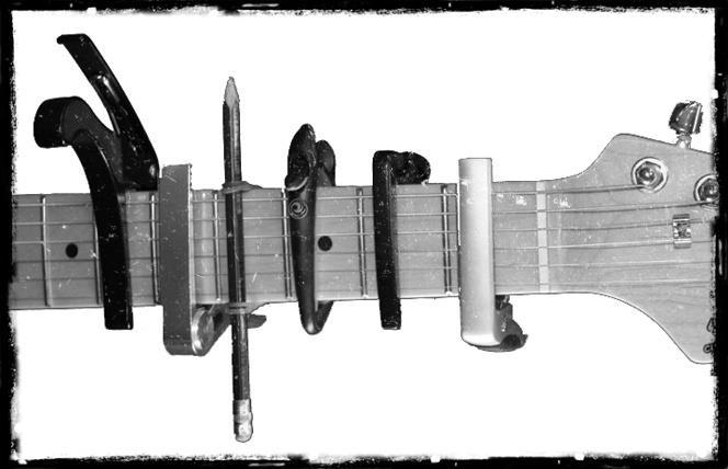 Guitar capodasters