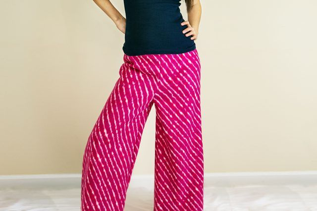 Palazzo pants, also known as wide-leg or gaucho pants, flare directly from the hip, and are mainly worn by women. They were made popular in the '70s, but are still worn...